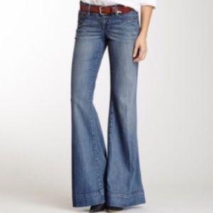 Level 99 Cotton Wide Leg flare Jeans Size 29